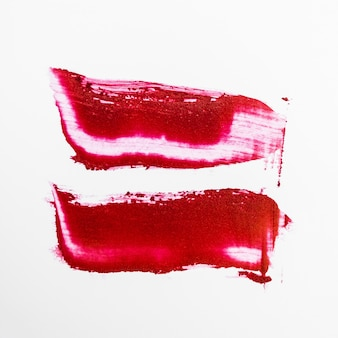 Abstriche lippenstift o