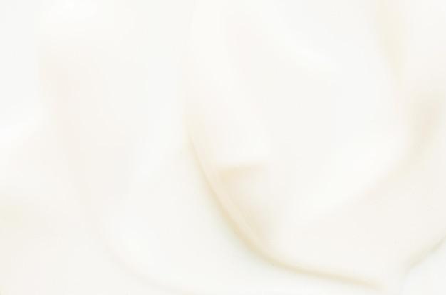 Abstriche und textur der gesichtscreme hautpflegekonzept bild