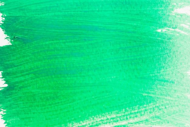 Abstriche von smaragdfarbe