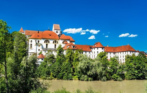 Abtei st. mang in füssen - bayern, deutschland
