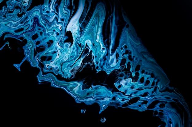 Acryl gießen farbe flüssige marmor abstrakte oberflächen design
