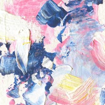 Acrylmuster spritzen