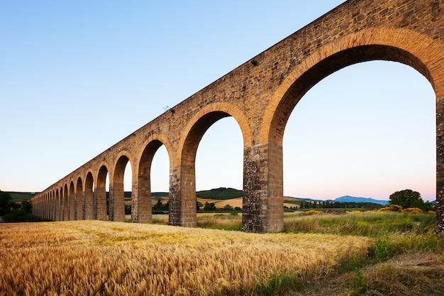 Acueducto in navarra spanien