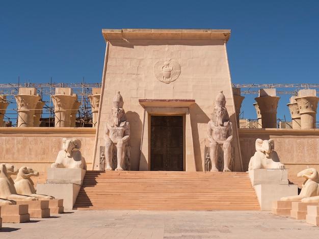 Ägyptischer eingang