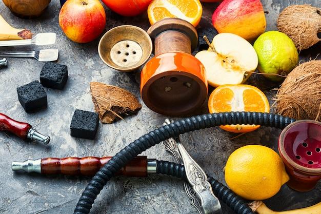 Ägyptischer frucht-wasserpfeifentabak