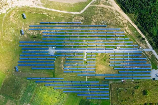 Aerial solar photovoltaik