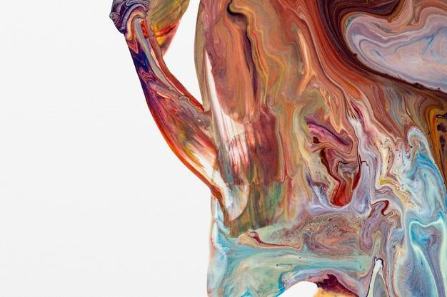 Ästhetischer bunter hintergrund handgemachte experimentelle kunst