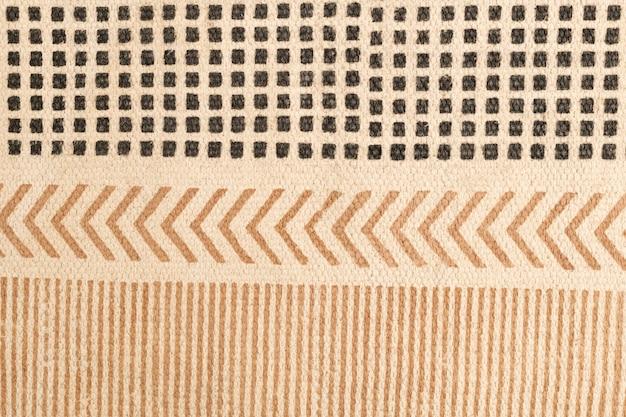 Ästhetischer textilhintergrund, ethnisches muster