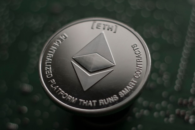 Äther. kryptowährung ethereum. e-currency-ethereum