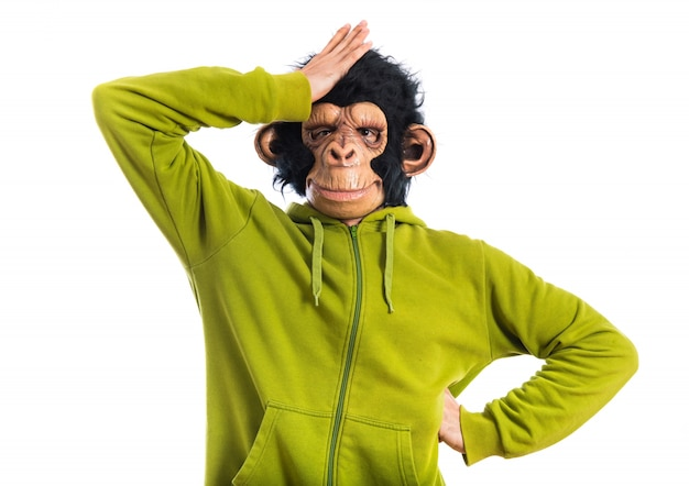 Affe mann zweifel