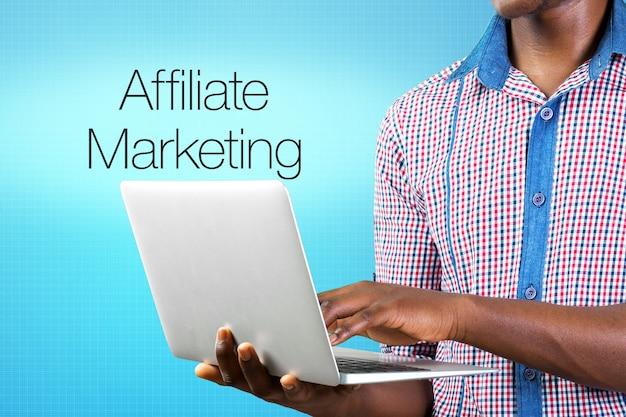 Affiliate-marketing-geschäftssymbole