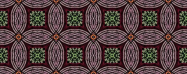 Afrikanische kunstzeichnung. nahtloses aztekisches muster. stammes dekorativer druck. stammes-volksverzierung.