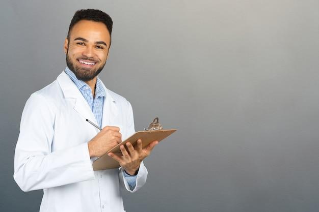 Afrikanisches doktorportrait