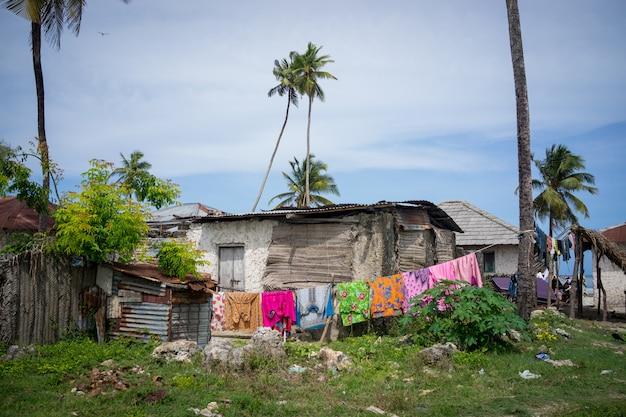 Afrikanisches landhaus