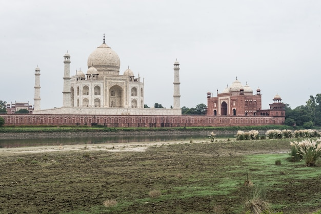 Agra-stadt taj mahal indien