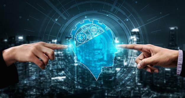 Ai-lernen und künstliche intelligenz c