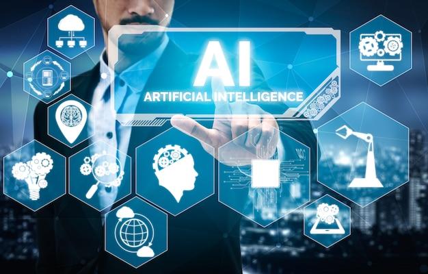 Ai-lernen und künstliche intelligenz