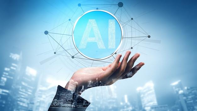 Ai-lernen und künstliche intelligenz.