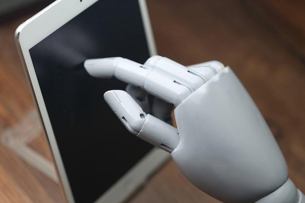Ai roboter operationen tablette