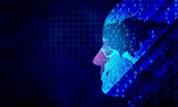 Ai-technologie-hintergrund