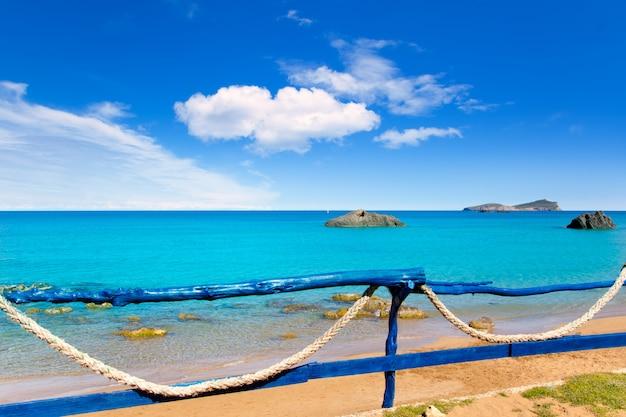 Aiguas blanques strand von agua blanca ibiza