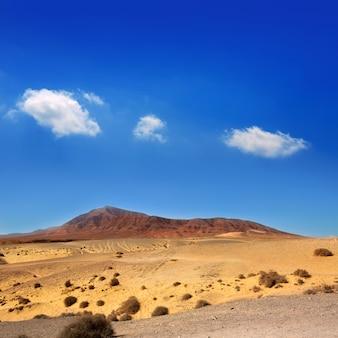 Ajaches berg in lanzarote punta papagayo