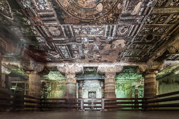 Ajanta-höhlen, indien