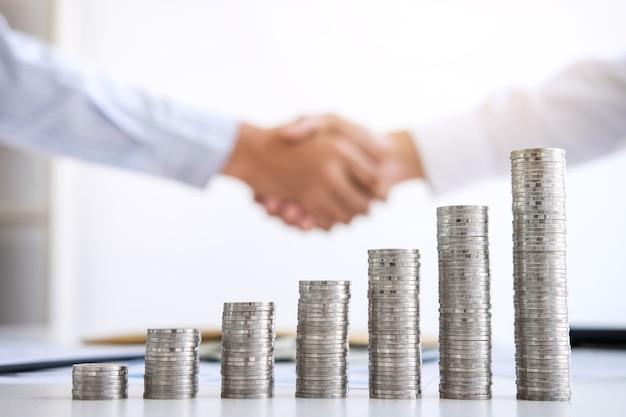 Aktienfinanzindizes und wachstumsstapelmünze
