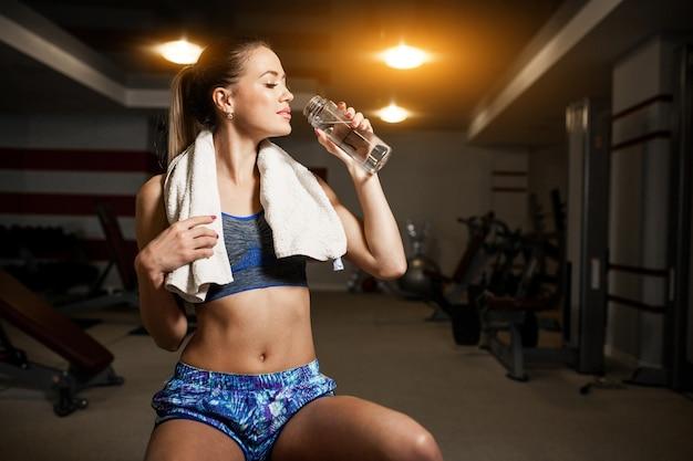 Aktiver athlet aerobic erwachsener hintergrund