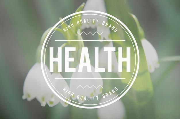 Aktives konzept für gesunde gesundheit im gesundheitswesen