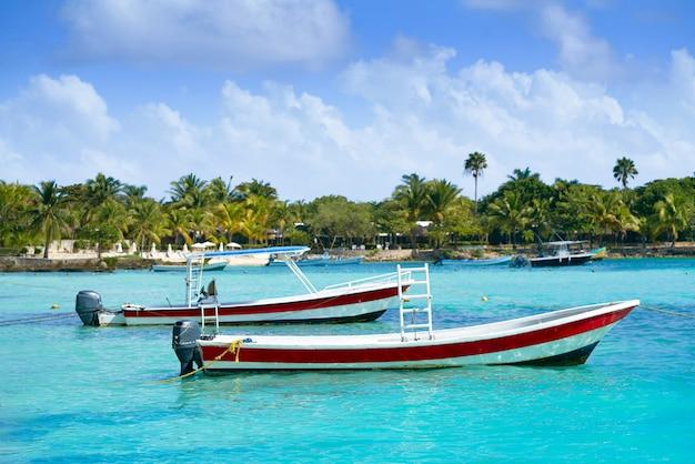 Akumal karibik strand in riviera maya