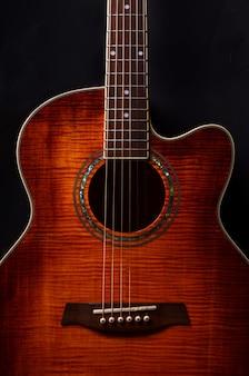 Akustische gitarrenelemente hautnah