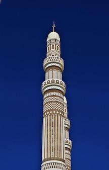 Al saleh moschee, große moschee von sana'a, jemen