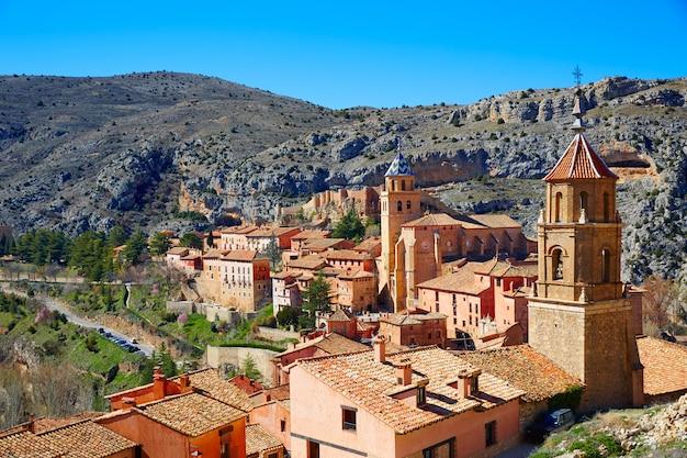 Albarracin mittelalterliche stadt in teruel spanien