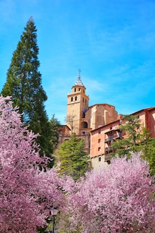 Albarracin mittelalterliche stadt in teruel-welterbe