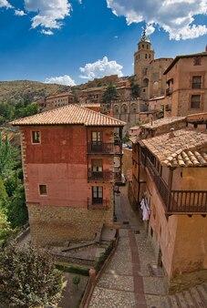Albarracin teruel spanien.
