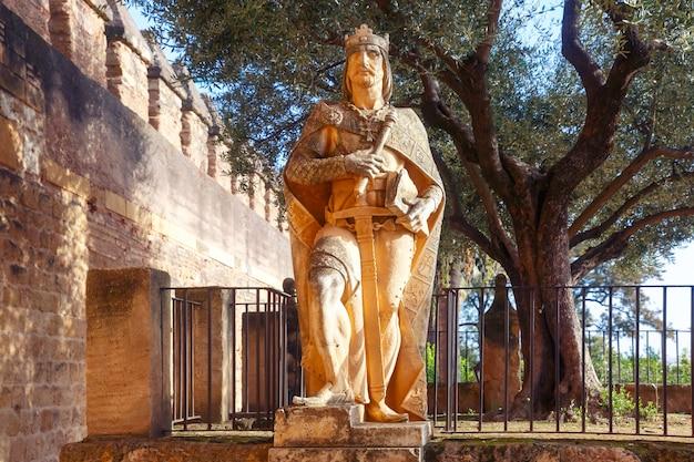 Alcazar de los reyes cristianos, cordoba, spanien