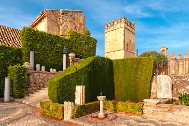 Alcazar de los reyes cristianos in cordoba, spanien