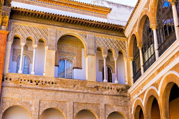 Alcazar von sevilla, andalusien, spanien