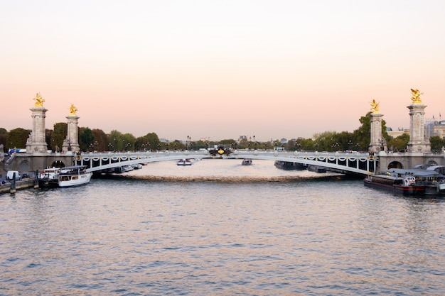 Alexander iii brücke in paris