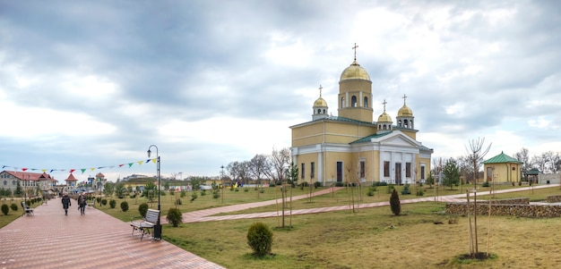 Alexander nevsky church in bender, transnistrien