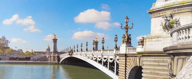 Alexandre-brücke in paris
