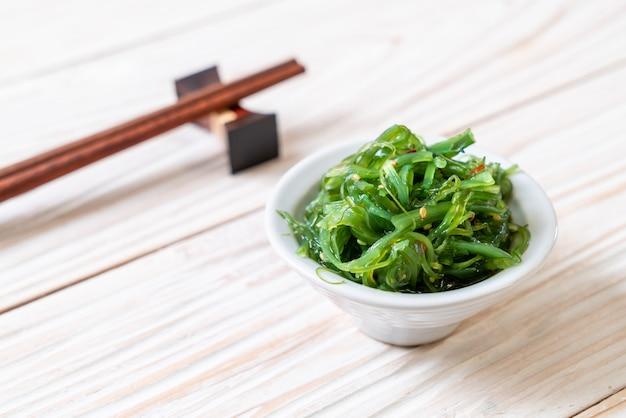 Algensalat im japanischen stil