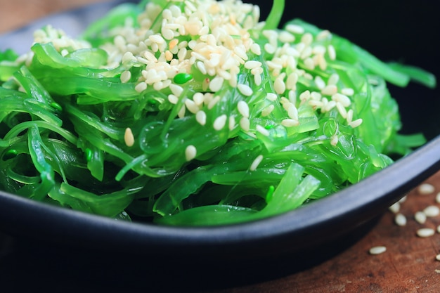 Algensalat - japanisches essen