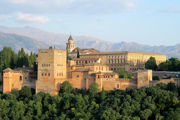 Alhambra festung in granada