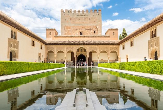 Alhambra-palast von granada, spanien