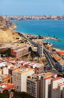 Alicante vom höhepunkt