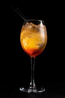Alkoholcocktail fiero spritz.