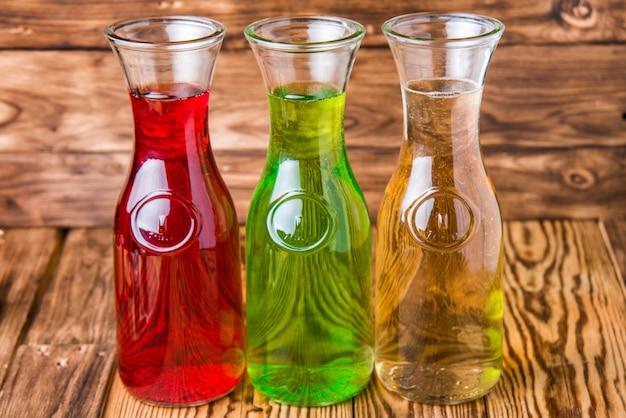 Alkoholfreie getränke im glas