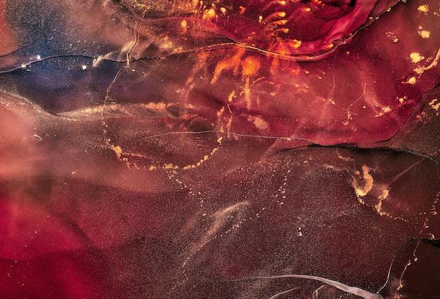 Alkoholtintenfarben durchscheinend. abstrakter mehrfarbiger marmorbeschaffenheitshintergrund. design-geschenkpapier, tapete. mischen von acrylfarben. moderne flüssige kunst. alkoholtintenmuster